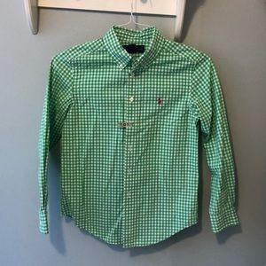 Boys Ralph Lauren dress shirt - Size M 10/12
